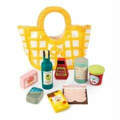 Tender Leaf Toys Grocery Bag Playset