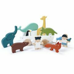 The Friend Ship Pull Along Toy With Animals