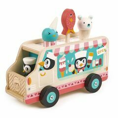 Tender Leaf Toys Penguins Ice Cream Van