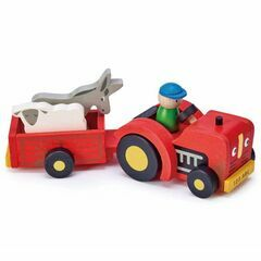 Tender Leaf Toys Tractor & Trailer