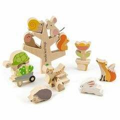 Tender Leaf Toys Garden Friends Wooden Stacking Game