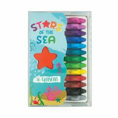 Ooly Stars of the Sea Starfish Crayons - Set of 16