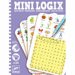 Djeco Mini Logix Game - Word Search