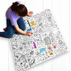 Eggnogg Colour In Giant Poster - Teatime