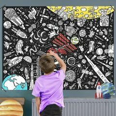 Eggnogg Colour In Giant Poster - Space