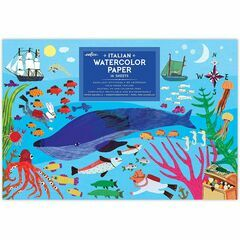 eeBoo 'In The Sea' Painting Paper Pad