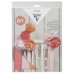 Clairefontaine Crepe Paper Kit - Macrame Decoration