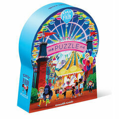 Crocodile Creek 48 Piece Silhouette Puzzle - Day at the Fair