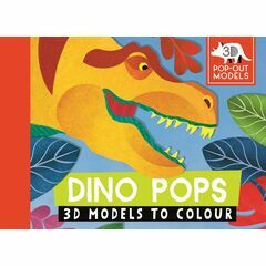 Dino Pops: 3D Models to Colour