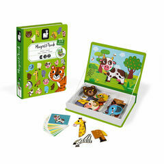 Janod Magnetic Book - Animals