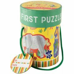 Floss & Rock Jungle My First Puzzles - 3, 4, 6 & 8 Pieces