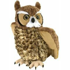 Great Horned Owl Cuddlekins Soft Toy (30cm)