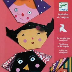 Djeco Origami Papers - Faces
