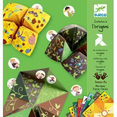 Djeco Green Fortune Teller Origami Papers Green