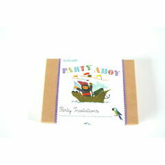 Button Books Alain Gree Party Invitations - Pirate Party