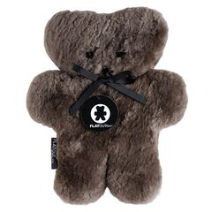 Flatout Chocolate Comfort Teddy Bear