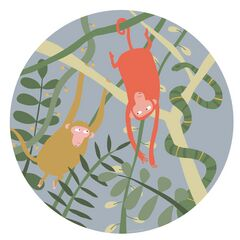Petit Jour Paris Jungle Side Plate - Monkeys