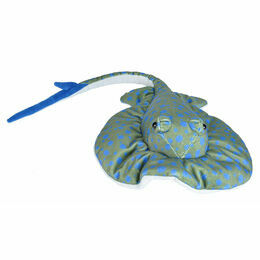 Wild Republic Blue Spotted Sting Ray 38cm Cuddlekin Soft Toy