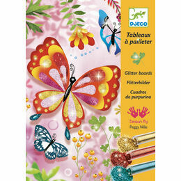 Djeco Glitter Art Workshop - Butterflies & Bugs
