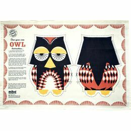 Mibo Owl Tea Towel