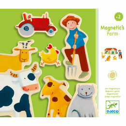 Djeco Magnetic Game - Farm