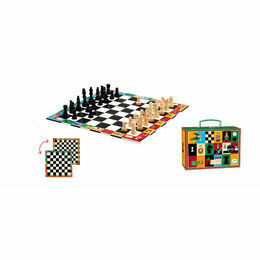 Djeco Chess & Checkers Board Game