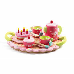 Djeco Wooden Tea Set - Lili Rose