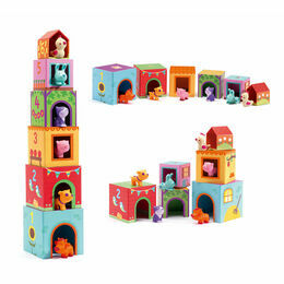 Djeco Stacking Cubes - Topanifarm
