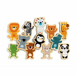 Djeco 'Coucou' Magnetic Animal Shapes Puzzle