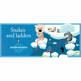 Djeco Classic Board Game - Polar Snakes & Ladders