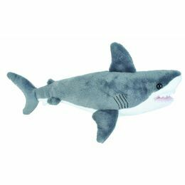 Wild Republic Mini Great White Shark 25cm Cuddlekin Soft Toy