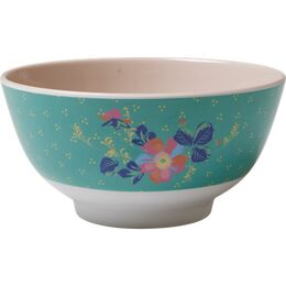Rice Melamine Bowl Two Tone - Dotty Print