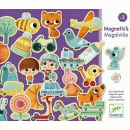 Djeco Magnetic Game - Magniville