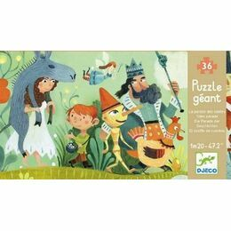 Djeco Giant 36 Piece Jigsaw Floor Puzzle - Tales Parade