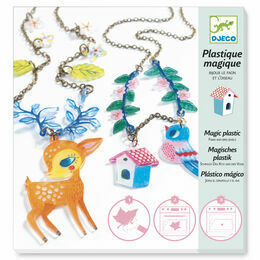 Djeco Magic Plastic Jewellery Kit - The Deer & Bird