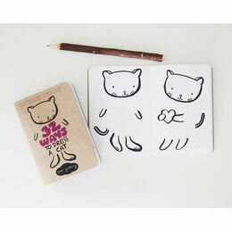 Wee Gallery Activity Books - 32 Ways to Dress a Cat