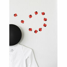 Wee Gallery Mini Weecals Wall Graphics - Ladybugs