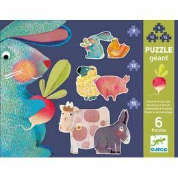 Djeco Giant Jigsaw Puzzle - Dandelion & Friends