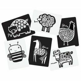 Wee Gallery Art Cards for Baby - Farm