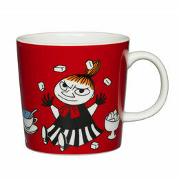 Arabia Finland Moomin Mug - Little My Red