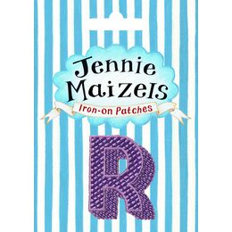 Jennie Maizels Alphabet Patch - Letter R - Purple