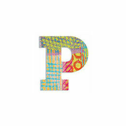 Djeco Wooden Letter P - Peacock