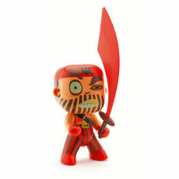 Djeco Pirate Figure - Captain Red