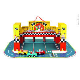 Janod Grand Prix Racing Car Set