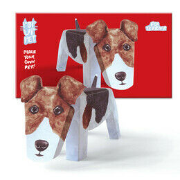 Rosie Flo Pop-Up Pet - Fox Terrier