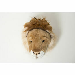 Wild & Soft Animal Head Rucksack - Lion