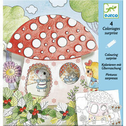 Djeco Colouring Surprise - Thumbalina/Poucette