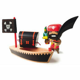 Djeco Pirate Figure - El Loco
