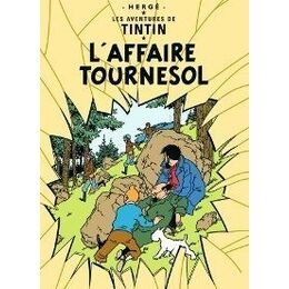 Tintin Poster - L'Affaire Tournesol