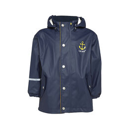 CeLaVi Rainwear Cotton Lined Jacket - Navy